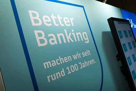 BBBank Filialen: Eckhaus mit BBBank Filiale