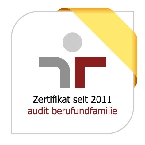 Zertifikat: audit beruf und familie