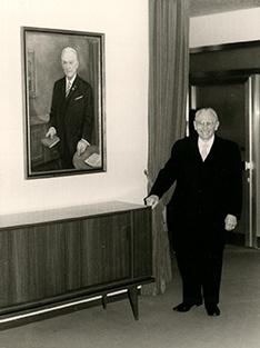 Gotthold Mayer, der Gründer der ehemaligen Badischen Beamtenbank